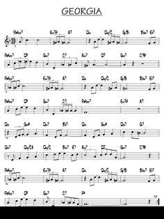 Partition Georgia piano guitare