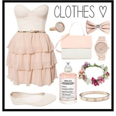 #104 lovely <3 by xjet1998x on Polyvore featuring moda, Elise Ryan, Wet Seal, Eddie, Nine West, Cartier, Monica Vinader, Topshop, H&M and Maison Margiela