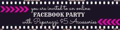 Paparazzi Facebook party cover photo