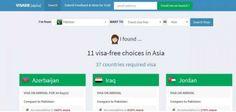 یہ ویب سائٹ آپ کو بتاتی ہے کہ کس ملک میں بغیر ویزہ کے سفر کیا جا سکتا ہے، اُردو پوائنٹ ٹیکنالوجی