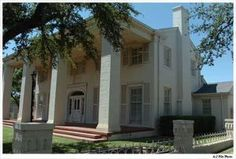 """I always loved this house in Lubbock.  It was near my parent's home.  It was modeled after Tara, from """"Gone with the Wind"""".  At one point it was converted into a restaurant and bar (Underground Tara).  I hear the home is no longer on the original site - I wonder what became of it?"""