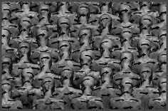 Misha Gordin : 'The New Crowd' (Conceptual Photography)