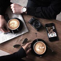 coffee — : @blackink.penn | Tag your shot #manmakecoffee...