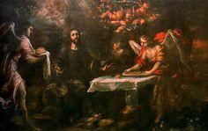 Juan de Valdes Leal - Cristo servido por los ángeles