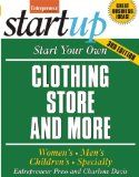 cool Start Your Own Clothing Store and More (StartUp Series)