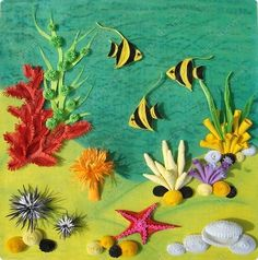 quilling sea life