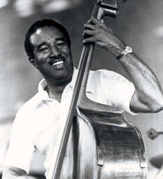 Ray Brown.  He once told one of my teachers--don't play soft!  Fill the room!  Love his work with  Oscar Petterson