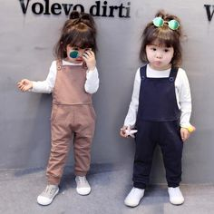 Baby Girls Set Boys Girls Jumpsuit Cute Rompers Suit Bib Overall + Long Sleeve T Shirt Baby Clothing Suit Infant Clothes Newborn Outfits, Mom Outfits, Romper Suit, Jumpsuits For Girls, Cute Rompers, Girls Sweaters, Outfit Sets, Overalls, Girls Dresses