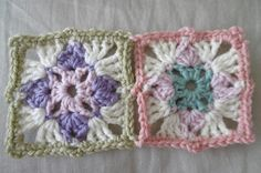 Suz Place: CROCHET: Square in a Square in a Square Granny Square updated free #crochet pattern
