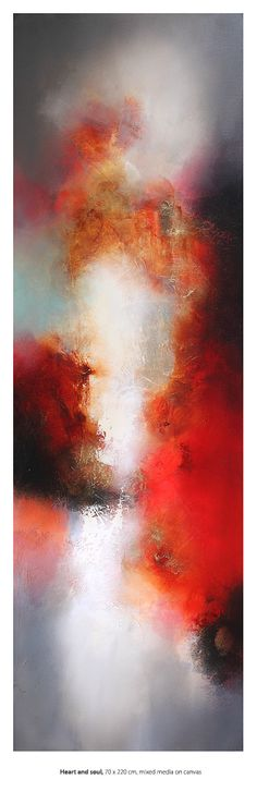 Eelco Maan, Heart and soul, 70 x 220 cm (Sold)