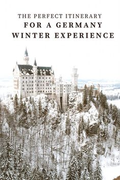 The Most Magical Winter: Germany Travel Guide | The Shine Project