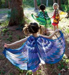 bird wings would be good presents for a few little girls I know