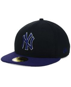 New Era New York Yankees Black Diamond Era 59FIFTY Cap