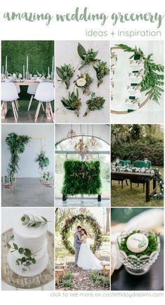 45+ Creative Wedding Greenery Ideas That Will Rock Your World  #weddinggreenery #wedding #greenery #greenerygarland #weddinggarland #weddings #weddingideas #greenerywedding #weddingchair #chairdecor #confettidaydreams #summerwedding #weddingdecor
