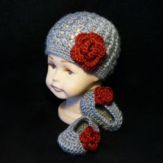 Add a touch of elegance to your child's wardrobe with this gorgeous Steel Cap & Shoes. Hat features a fitted brim and airy stitching that is perfect for spring, fall, and winter. Stick with the colors