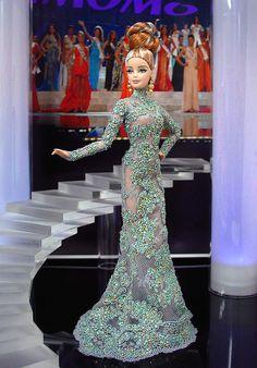 Barbie Miss Sudan 2012 by Ninimomo