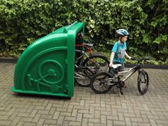 """Bike Shel """"4 Bike Locker"""" (Ireland)"""