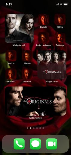 Themes App, Phone Themes, Vampire Shows, Application Icon, Iphone App Layout, Ios Design, Phone Organization, Phone Icon, Vampire Diaries The Originals
