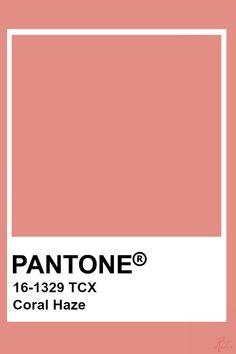 Pantone Coral Haze