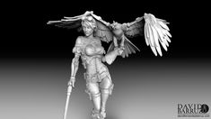 Jessica Thunderhawk is a steampunk sculpture for 75mm miniature production for Scale75 company.  This character is based on the great concept art of Olga Karambola.  I really enjoy sculpting this model, a lot of details, attractive figure, sexy pose and... and a steampunk falcon!  You can also buy this miniature here: http://www.scale75.com/index.php?route=product/category&path=54    Scale75 SteamWars Series   Thanks for watching!