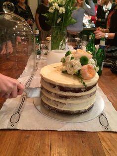Harriette's naked carrot cake
