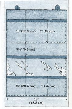 Wall Organizer instructions #tutorial