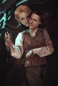 They are the most beautiful couple in the entire Harry Potter series. Harry Potter Anime, Mundo Harry Potter, Harry Potter Ships, Harry Potter Facts, Harry Potter Fan Art, Harry Potter Books, Harry Potter Fandom, Harry Potter Universal, Wallpaper Harry Potter