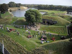 Het Nederlands Vestingmuseum van bovenaf, voor rondleidingen en meer kijk op www.vestingmuseum.nl