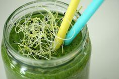 I Love Health | Groene smoothie met prei kiemen | http://www.ilovehealth.nl