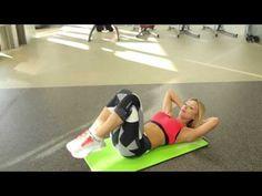 ТОП 5 лучших упражнений для бедер и ягодиц от Екатерины Усмановой Workout Будь в форме - YouTube