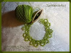 tatting--awesome blog, with tons of links to patterns, this person does some pretty tatting work