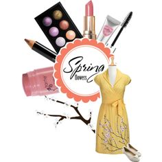 """""""#134: Spring Flowers"""" by eiluned on Polyvore"""