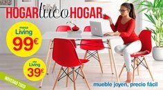 Nueva colección de muebles para que crees tu hogar, Tuco hogar. Ofertas válidas hasta 31/10/2016