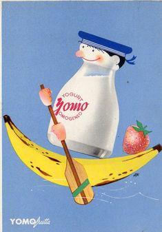 Pubblicitaria Advertising - Yomo Frutta Yogurt - Non Viaggiata - PU253