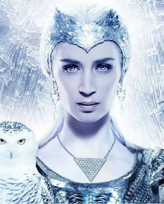 Emily Blunt as the Ice Queen