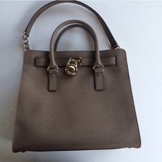 NEW Michael Kors NEW Michael Kors Light Grey slate colored purse  (comes with dust cover)  Instagram junkdrawerfinds   Ships next day  ⚡️Bundle to save 10%  No PayPal or Trades Michael Kors Bags Shoulder Bags