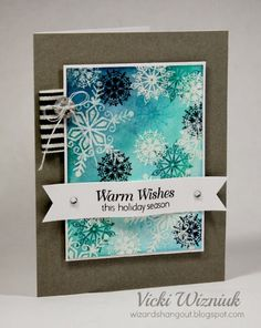 Wizard's Hangout: Christmas cards(11-19-13)...CTMH