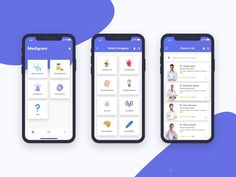 Medigram - Mobile App minimal medical gradient drug blood android ambulance ux u. App Ui Design, Mobile App Design, Interface Design, Design Design, Mobile Application Design, Wireframe Mobile, Mobile App Ui, Mobile App Developers, Android App Design