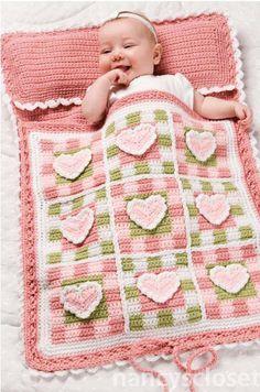 Pretty Hearts Baby Sleep...