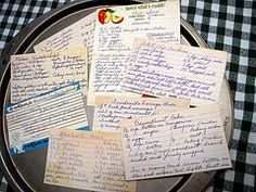 Collecting recipes is a fun project for kids - and grown-ups, too. Check out more food-related activities for kids at http://cookingandkids.com/blog/2012/06/12-food-related-kids-projects/#