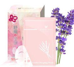 Annie's Way Lavender Sleeping Silk Mask