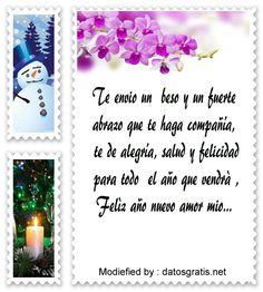 Mensajes De Texto Con Imagenes De Feliz Ano Nuevo Para Mi Enamorado