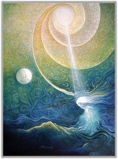 "Психолог онлайн. ""Психология личного пространства"" http://psychologieshomo.ru  Night of the Mystic by Freydoon Rassouli"