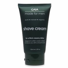 I'm learning all about Gaia Made for Men Shave Creme at @Influenster!
