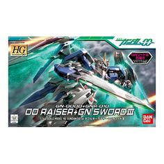 00 RAISER + GN SWORD III.Price:634.22 THB. Model series:HG. Scale:1/144