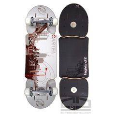Highland Streetboards pivotboard - Cartel model.