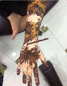 نقش حنا Khafif Mehndi Design, Mehndi Designs 2018, Stylish Mehndi Designs, Mehndi Design Pictures, Dulhan Mehndi Designs, Wedding Mehndi Designs, Beautiful Mehndi Design, Mehndi Style, Mehndi Designs For Hands