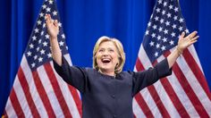 Democratic presidential candidate Hillary Clinton has warned her supporters against complacency as opinion polls show her holding a clear lead over Republican rival Donald Trump with exactly two weeks left until the November 8 election. Hillary Clinton 2016, Hillary Rodham Clinton, Bae, Clinton Campaign, Trump Wins, Presidential Candidates, Bernie Sanders, Hd 1080p, Rolling Stones