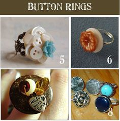Make your own buttons, button rings, and button crafts!!