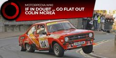 Video :: IF IN DOUBT, FLAT OUT - COLIN MCRAE HOONING HIS MK2 ESCORT - UK Car Auction Search :: Search ALL UK Car Auctions Colin Mcrae, Auction, Flat, Search, Bass, Searching, Ballet Flats